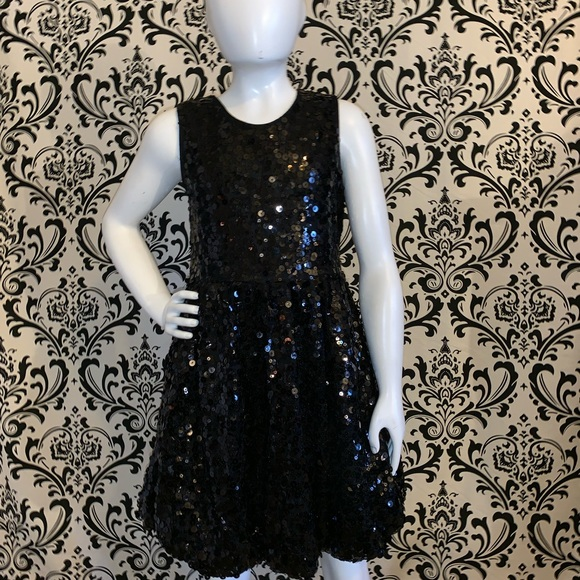 8e56e224373a Children's Place Dresses | Girls Black Sequin Dress Size 10 | Poshmark